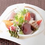 魚介のサラダ仕立て