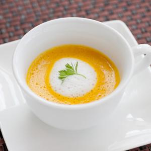 旬のお野菜のポタージュスープ(ハーフサイズ)